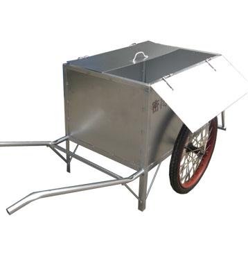 不锈钢保洁垃圾车