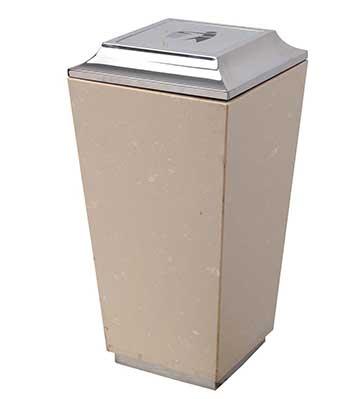 大理石酒店大堂垃圾桶