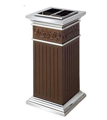 酒店不锈钢烟灰垃圾桶