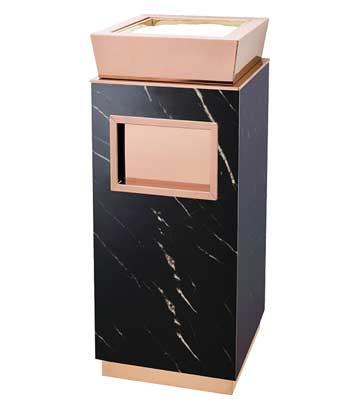 酒店大理石烟灰垃圾桶