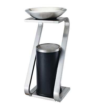 S型不锈钢座地烟灰桶