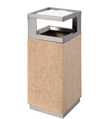 大理石商场垃圾桶