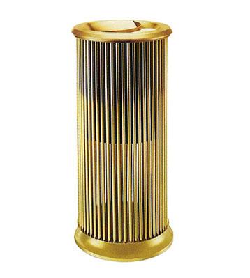 钛金钢管落地烟灰桶
