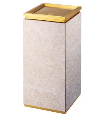 礼堂座地钛金垃圾桶