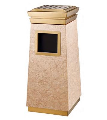 商务钛金垃圾桶