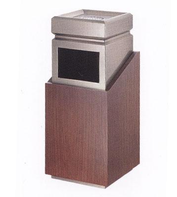 物业座地钛金垃圾桶