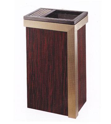 豪华古典钛金垃圾桶