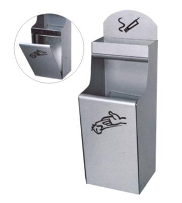 挂墙式铁皮垃圾桶