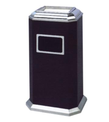 八角形铁皮烤漆垃圾桶