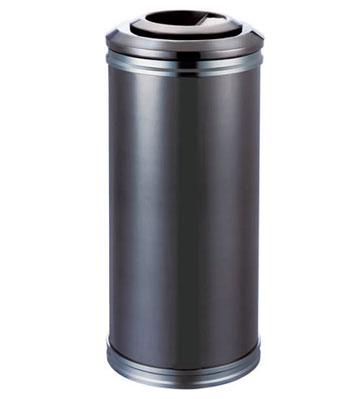 圆形钣金烤漆垃圾桶