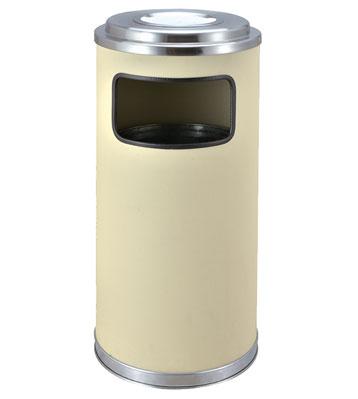 圆形钣金烤漆垃圾筒