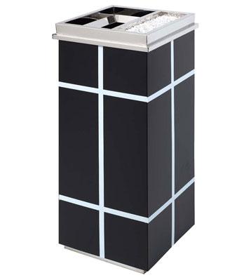 方形钣金烤漆垃圾桶