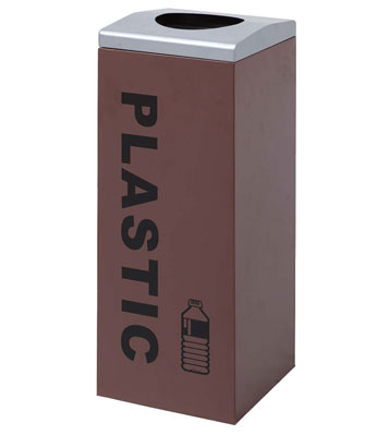 商场塑料瓶收集桶