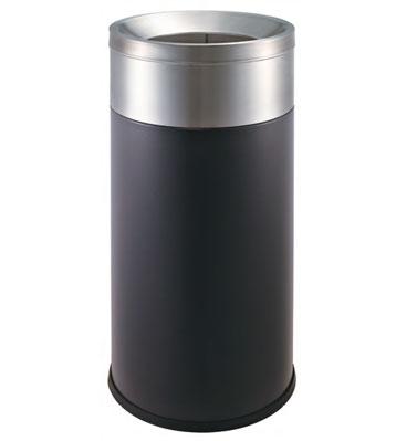 座地烤漆铁皮垃圾桶
