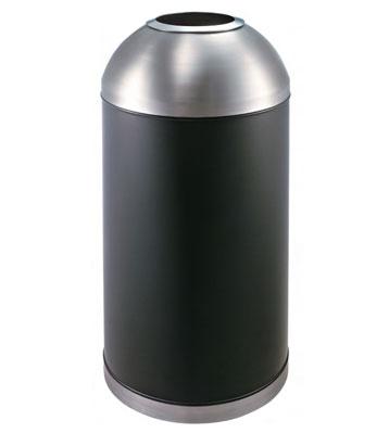 球口烤漆铁皮垃圾桶
