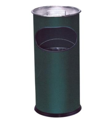 圆形敞口铁皮垃圾桶