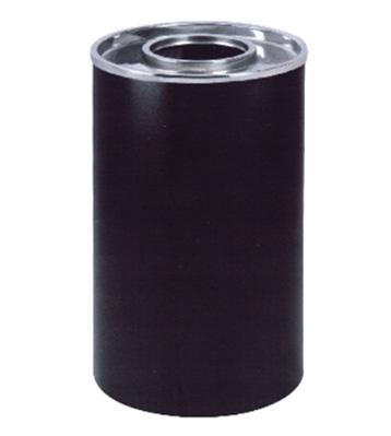 美式室内圆形铁皮垃圾桶