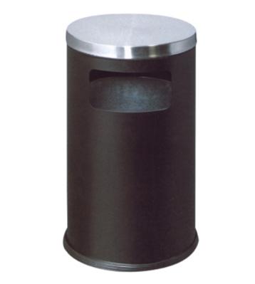 港式商场平盖铁皮垃圾桶