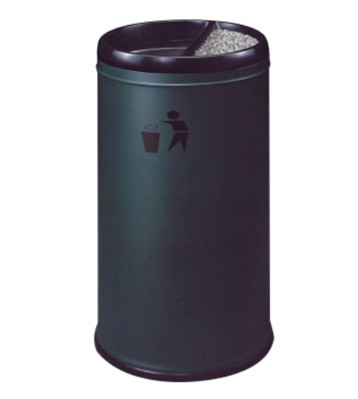 港式酒店防火铁皮垃圾桶