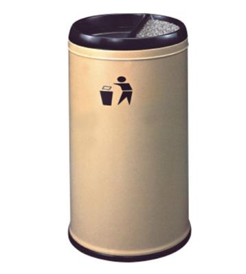 酒店室内防火铁皮垃圾桶